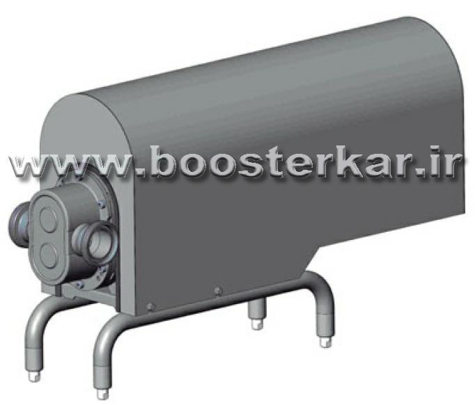تصویر پمپ الکتروپمپ اینوکسپا inoxpa TlS و پوشش محافظ